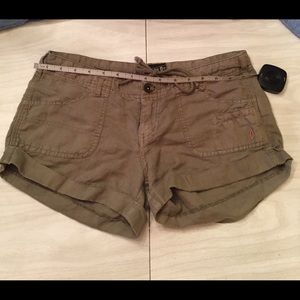 Volcom Linen/cotton day dreamer shorts size 3